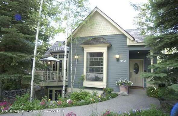 Aspen Historic West End Home Built 1888 Remodeled 2000 Sells at $11.7M/$2,451Sq Ft Image