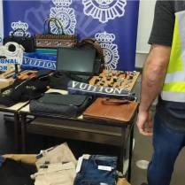 Policia Nacional botin robo