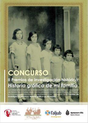 II Premios de investigación histórica: Historia Gráfica de mi Familia'