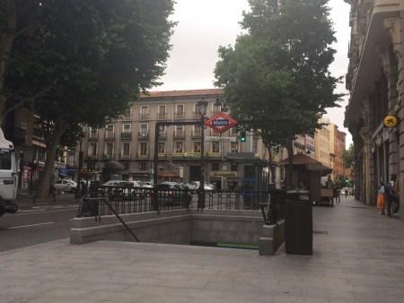A mítica Plaza de la Cebada, em La Latina