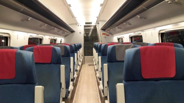 Trem para Toledo: rápido e confortável!