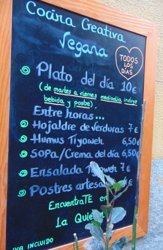 restaurante vegano madrid
