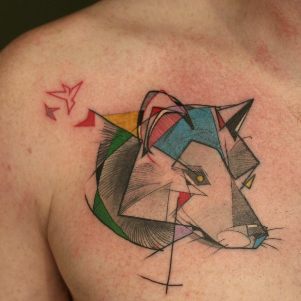 Uma das tattoos do Wonak