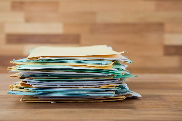 Armazenamento documentos em self storage