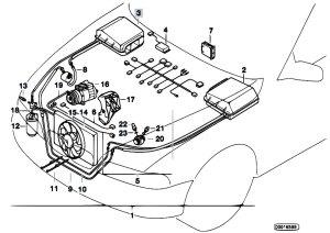 Original Parts for E39 528i M52 Sedan  Heater And Air
