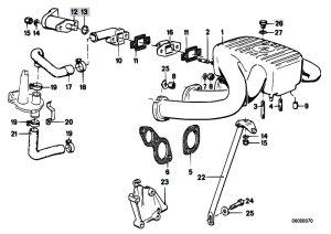Original Parts for E30 318i M10 4 doors  Engine Intake