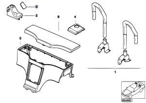 Original Parts for Z3 Z3 28 M52 Roadster  Sliding Roof