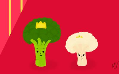 O rei Brócolis