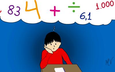 Eu detesto matemática