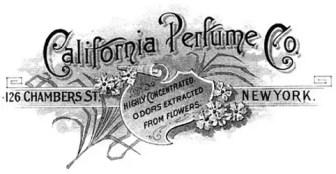 Logo del California Perfume Company