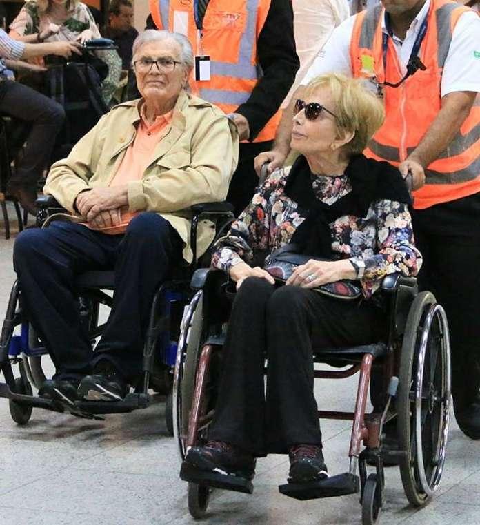 Resultado de imagem para tarcisio meira e gloria menezes cadeira de rodas