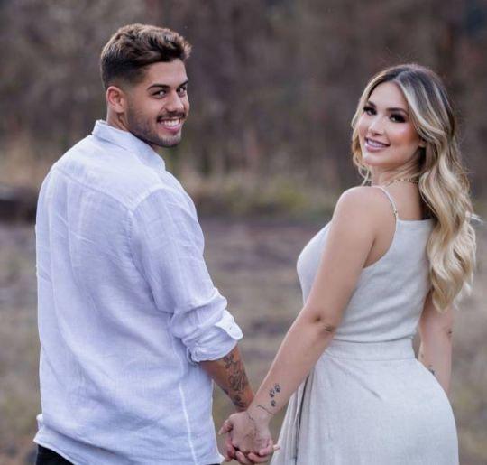 Virginia Fonseca anuncia que ela e Zé Felipe se casaram - mas há uma  pegadinha! - Estrelando
