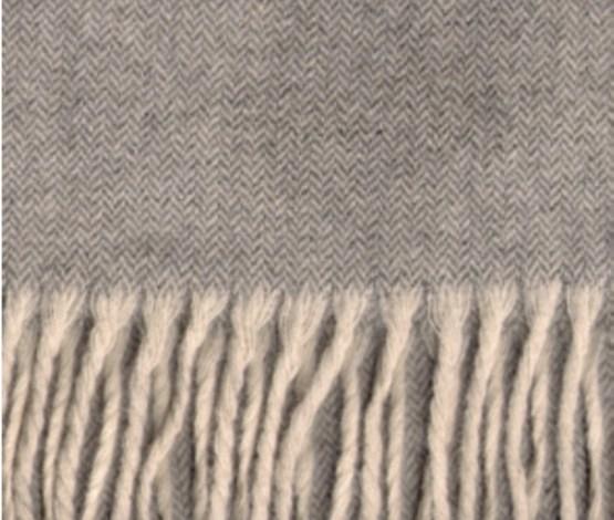 écharpe laine naturelle