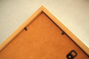 Lamina dibujo Mini Cooper enmarcada Trasera marco
