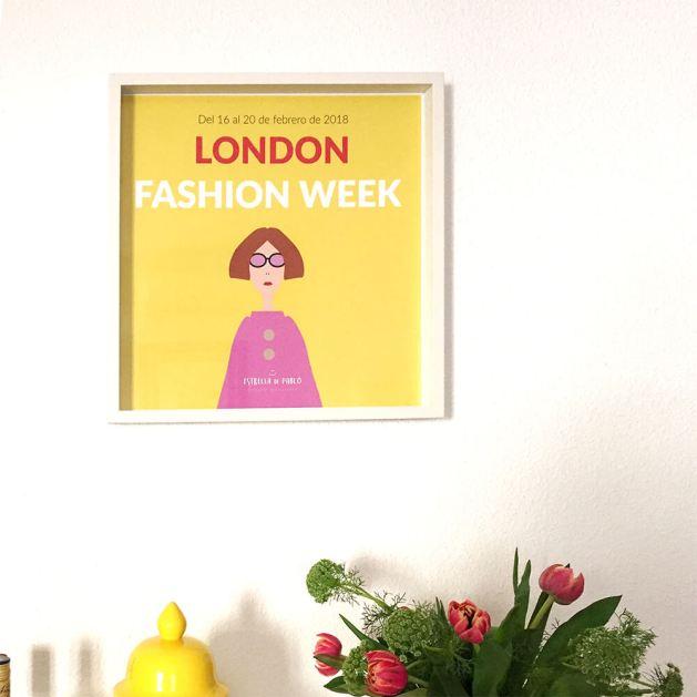 Lámina grande London Fashion Week