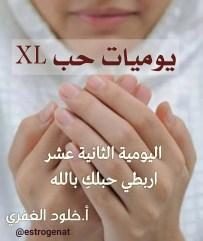 ١٢. اربطي حبلك بالله   يوميات حب XL