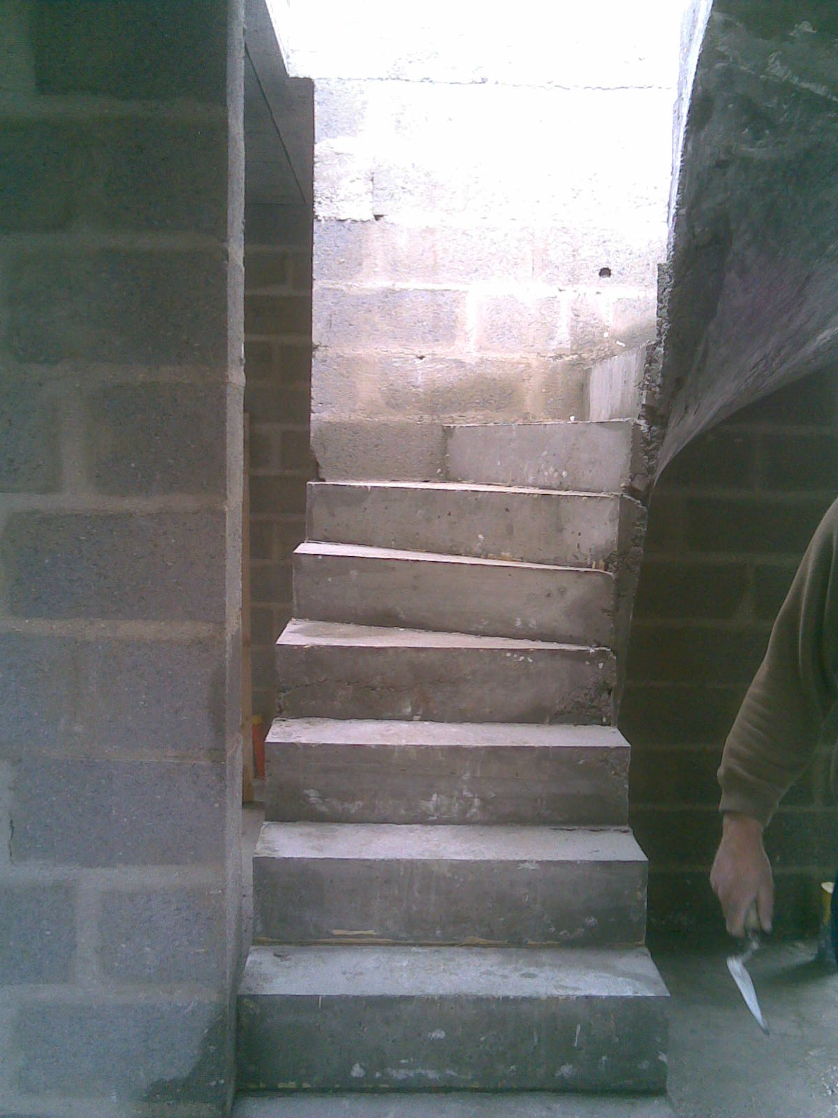 Etapes Pour La Fabrication Dun Escalier Bton Entreprise