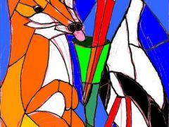 raposa-conjunção-cegonha