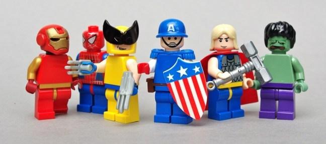 lego team heroes