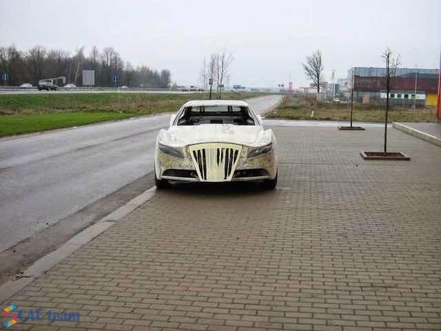 شكل السيارة قبل النهائي