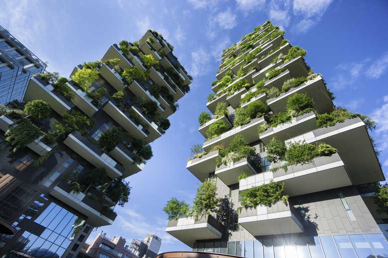 Bosque vertical de Milão
