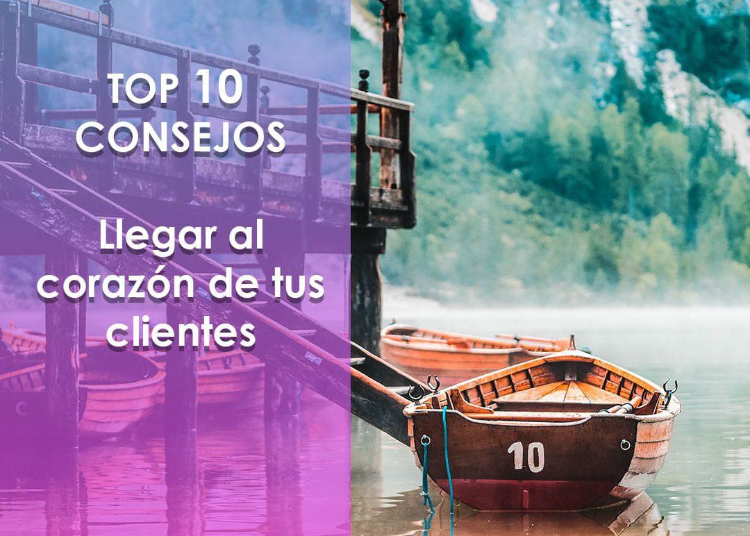 top 10 consejos corazon clientes