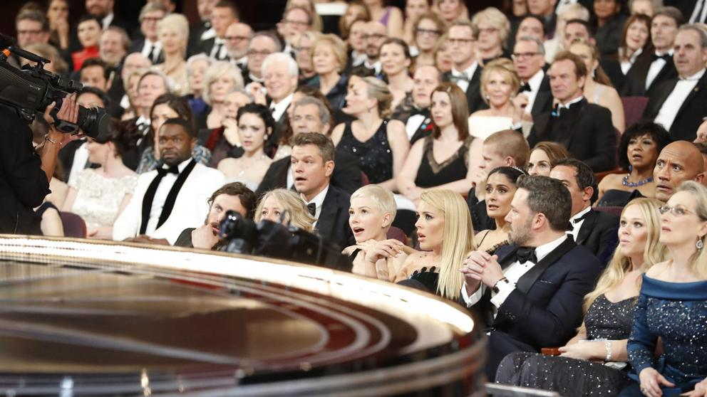 Reaccion Error Oscars 2017