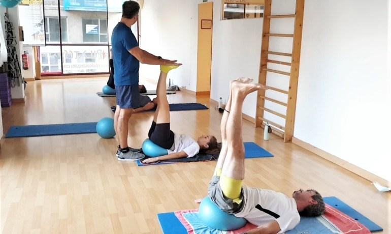 """Pilates con Pelota Pequeña. """"SoftBall"""""""