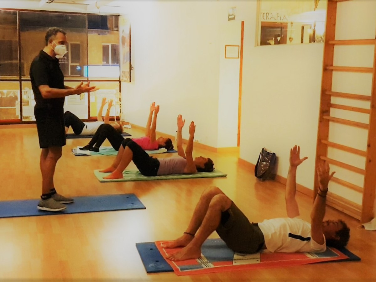 Pilates Mat. Conciencia corporal