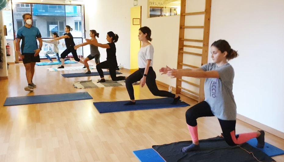 Pilates Mat. Flexibilidad, equilibrio y fuerza