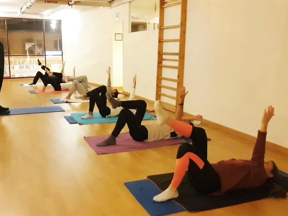 Pilates Mat. Coordinación