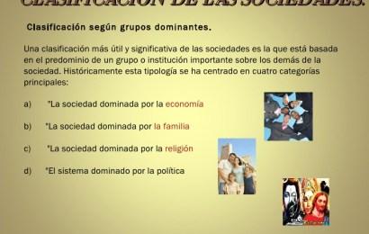 Organización de la Sociedad humana