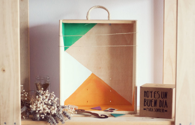 Diy c mo decorar una caja de madera esturirafi - Cajitas de madera para decorar ...