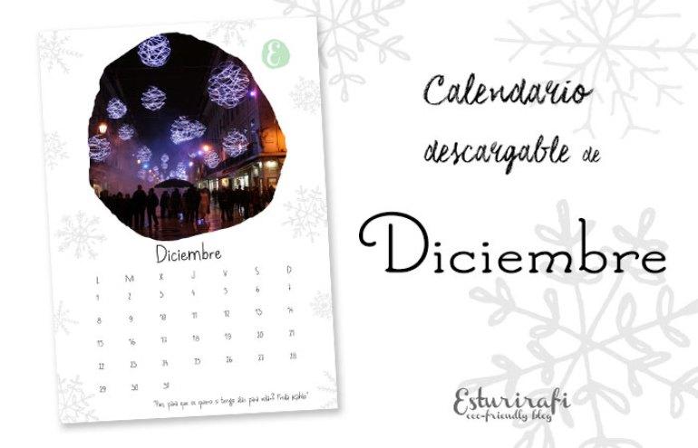 Calendario descargable diciembre 2014 | Esturirafi