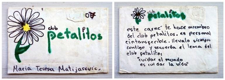 Esta reliquia era el carnet de mi mamá como socia 07 del club.¿por qué 07? ¡No tengo idea! Jajaja, tenía que haber sido la número 1 :-)