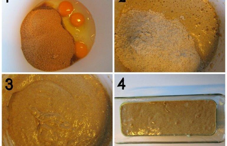 Las recetas de Esturirafi. Bizcocho integral de limón y naranja  #recetas