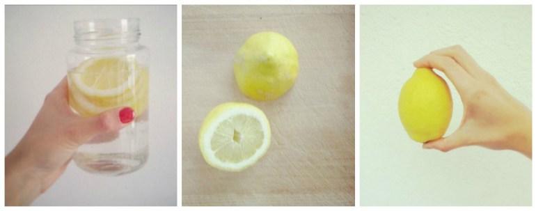 Mi ritual de cada mañana #vidasana #limon