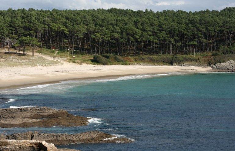 Un paseo por la costa da Vela . Playa de Melide
