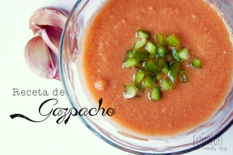 Las recetas de Esturirafi. Gazpacho #recetas