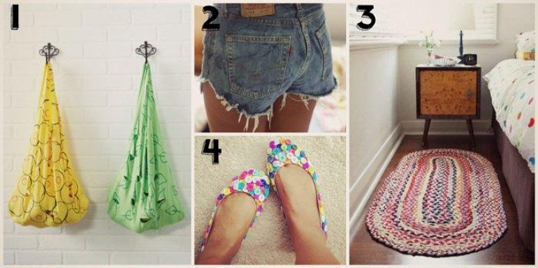 Ideas para reciclar y reutilizar ropa usada