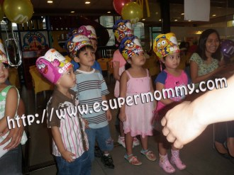 McDonald's Birthday Party kids