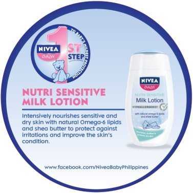 Nivea Baby Milk Lotion