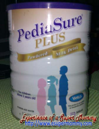 pediasure plus vanilla milk