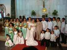 Budget Tipid Wedding Church photo
