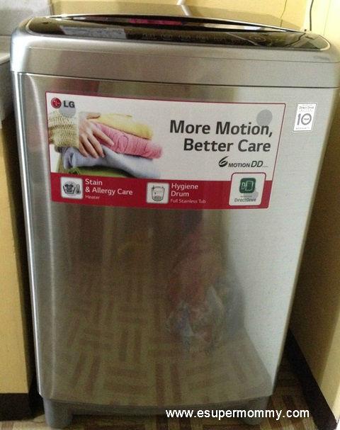 LG 6motion DD Washing Machine