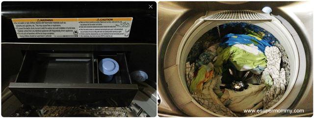 LG inverter washing machine