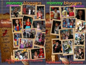 Halloween Kids costume at the Mommy Bloggers Philippines Halloween celebration