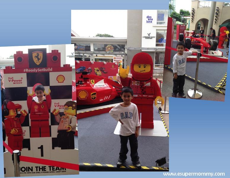 SHELL FERARI LEGO COLLECTION