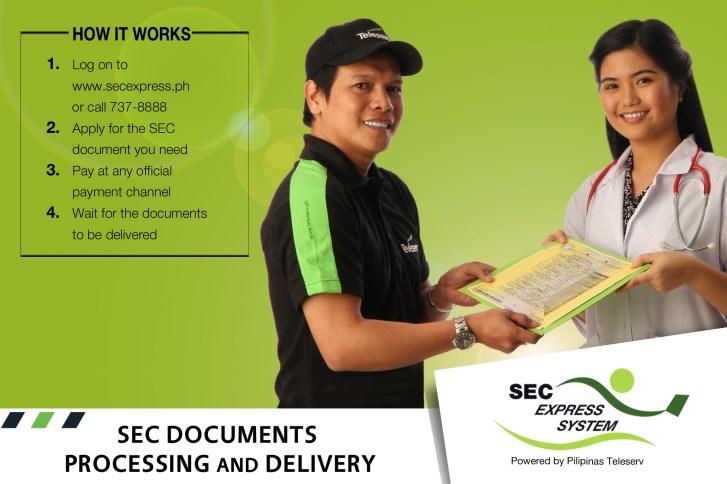 SEC Document Express Request
