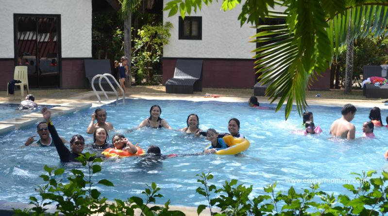 Sabangan Resort Swimming Pool